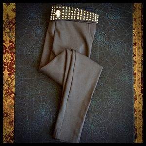 Skinny Black SKULL PANTS! 💀